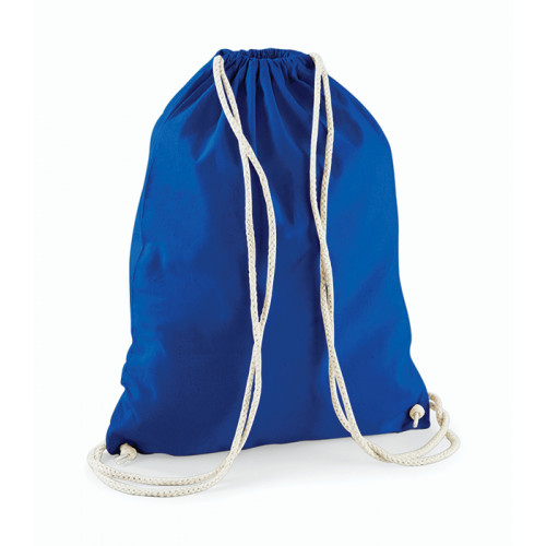Westford Mill Cotton Gymsack Bright Royal