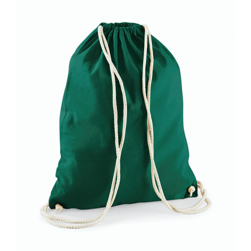 Westford Mill Cotton Gymsack Bottle Green