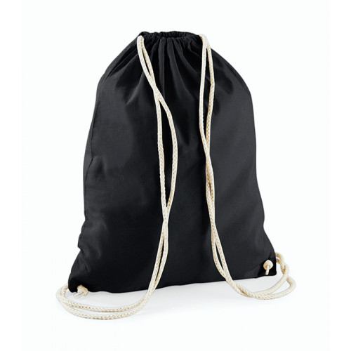 Westford Mill Cotton Gymsack Black