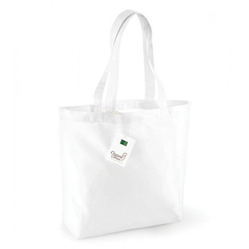 Westford Mill Organic Cotton Shopper White