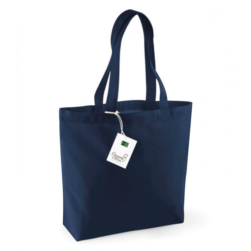 Westford Mill Organic Cotton Shopper Navy