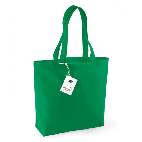 Westford Mill Organic Cotton Shopper Kelly Green