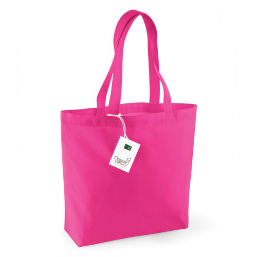 Westford Mill Organic Cotton Shopper Fuchsia