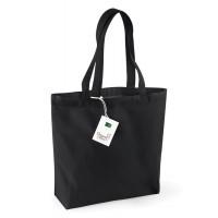 Westford Mill Organic Cotton Shopper Black