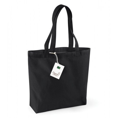 Westford Mill Organic Cotton Shopper Black