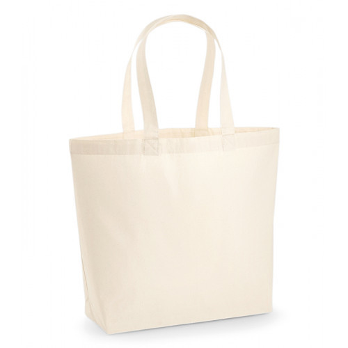 Westford Mill Premium Cotton Maxi Tote Natural
