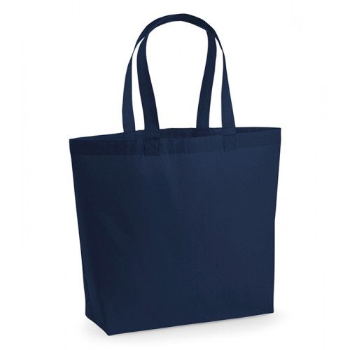 Westford Mill Premium Cotton Maxi Tote French Navy
