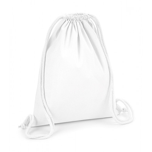 Westford Mill Organic Premium Cotton Gymsac White
