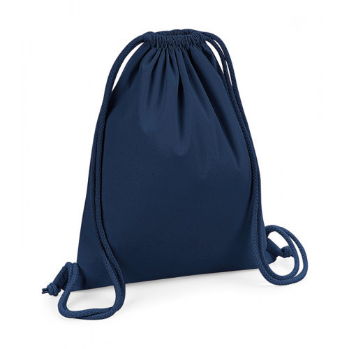 Westford Mill Organic Premium Cotton Gymsac FrenchNavy