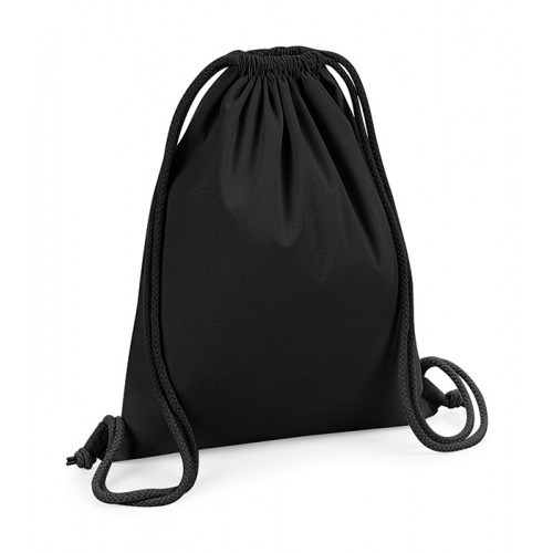 Westford Mill Organic Premium Cotton Gymsac Black