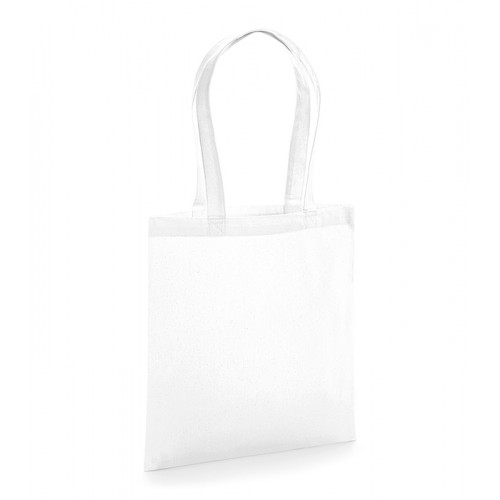 Westford Mill Organic Premium Cotton Tote White