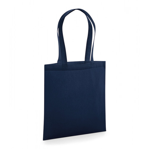 Westford Mill Organic Premium Cotton Tote French Navy