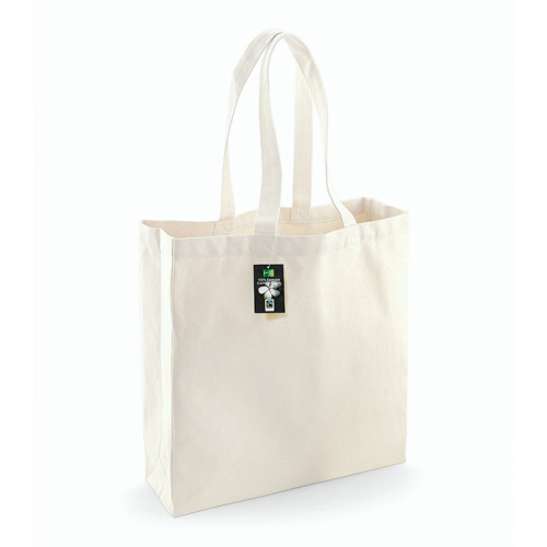 Westford Mill Fairtrade Cotton Classic Shopper Natural