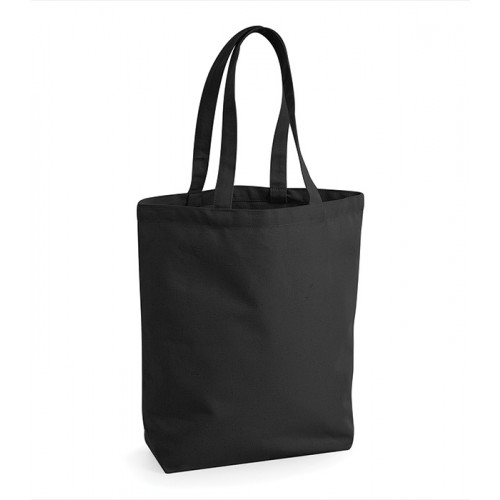 Westford Mill Fairtrade Camden Shopper Black