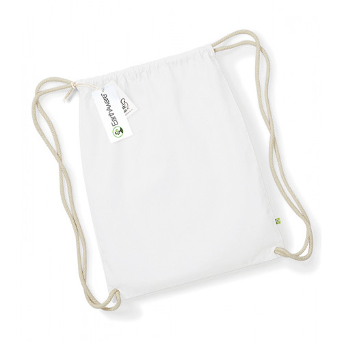 Westford Mill EarthAware® Organic Gymsac White