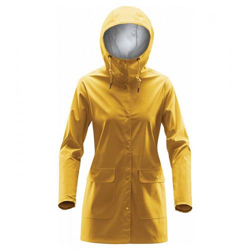 Stormtech Women's Squall Rain Jacket Gold