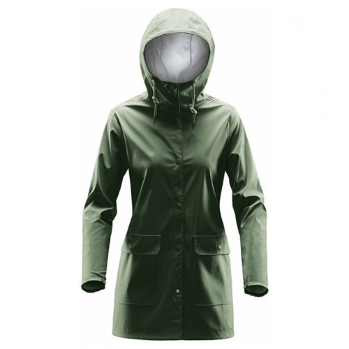 Stormtech Women's Squall Rain Jacket Earth