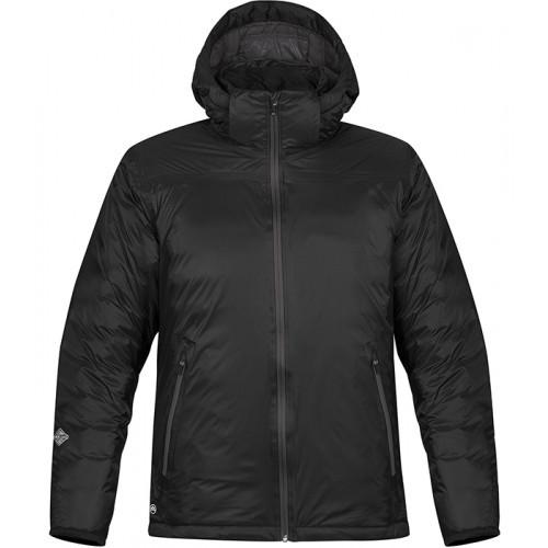 Stormtech Men's Black Ice Thermal Jacket Black/Dolphin
