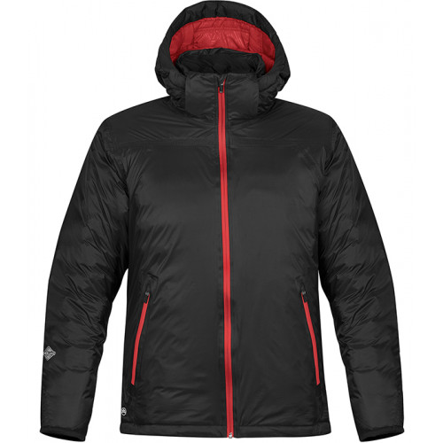 Stormtech Men's Black Ice Thermal Jacket Black/Bright Red