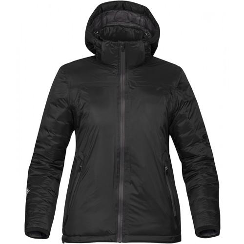 Stormtech Women's Black Ice Thermal Jacket Black/Dolphin