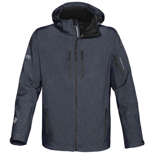 Stormtech Expedition Soft Shell Navy Heather