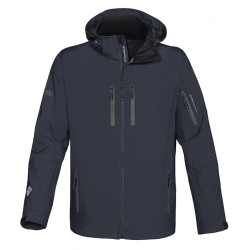 Stormtech Expedition Soft Shell Navy/Granite