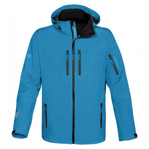 Stormtech Expedition Soft Shell Electric Blue/Black