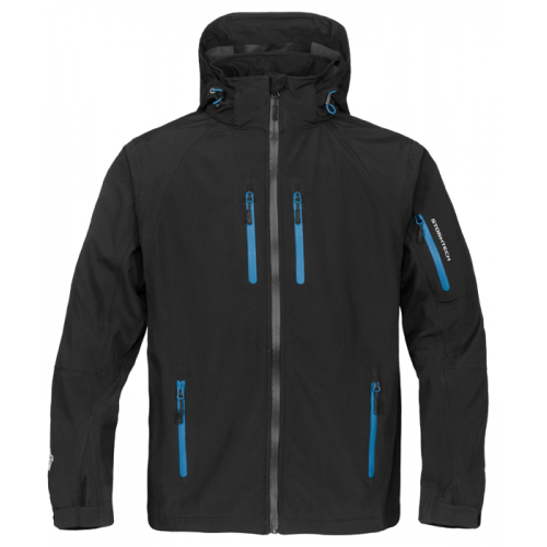 Stormtech Expedition Soft Shell Black/Methyl Blue