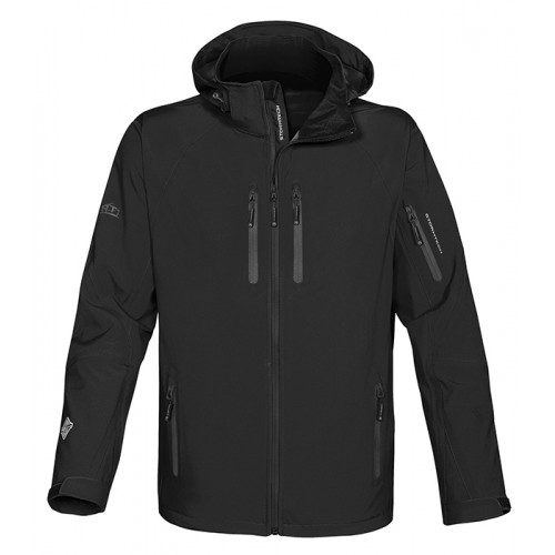 Stormtech Expedition Soft Shell Black/Granite
