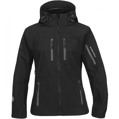 Stormtech W`s Expedition Soft Shell Black/Granite