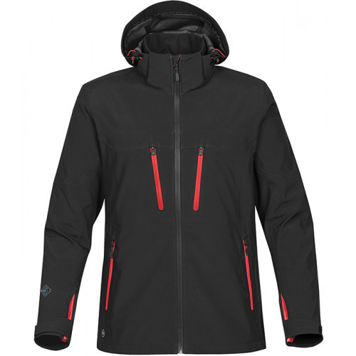 Stormtech Men's Patrol Shell Black/Bright Red