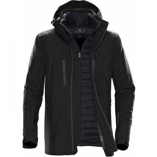 Stormtech Matrix Softshell 3 in 1 Black/Carbon