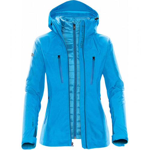 Stormtech Women´s Matrix Softshell 3 in 1 Electric Blue