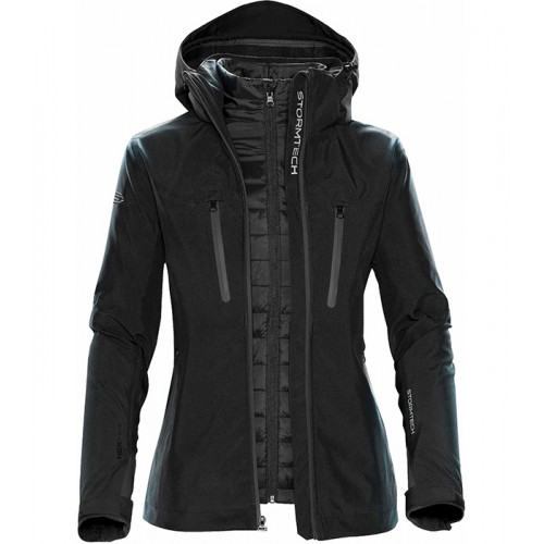 Stormtech Women´s Matrix Softshell 3 in 1 Black/Carbon