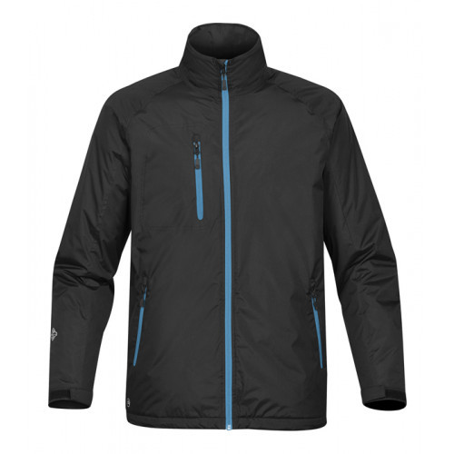 Stormtech M's Bolt Thermal Shell Black/Electric Blue