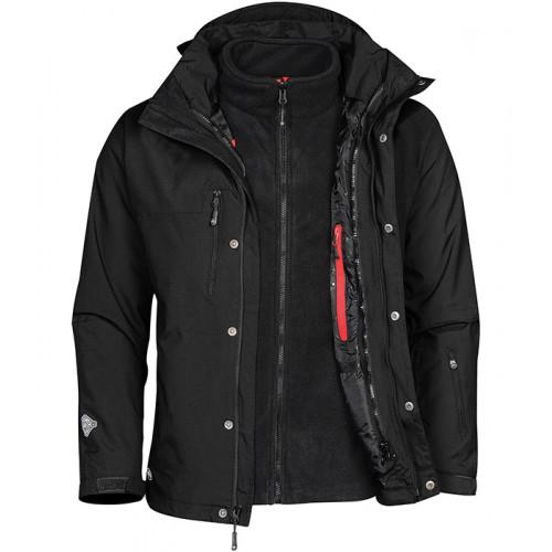 Stormtech Beaufort 3-in-1 System Jacket Black