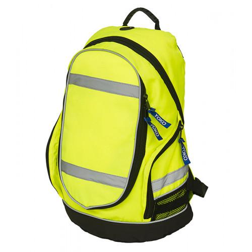 YOKO Hi vis London rucksack Hi vis Yellow