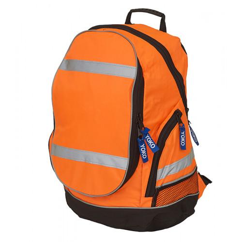 YOKO Hi vis London rucksack Orange