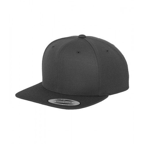 Flexfit The Classic Snapback Dark Grey