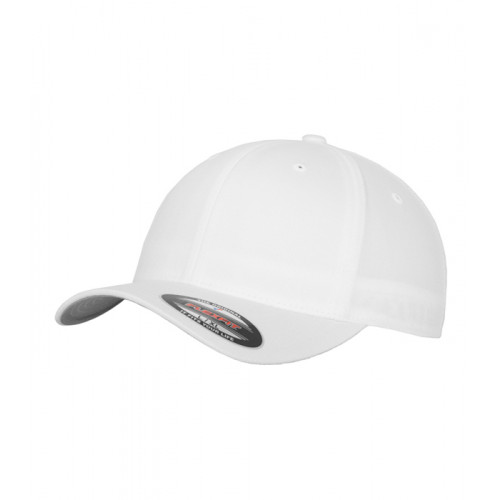 Flexfit Flexfit Fitted Baseball Cap White