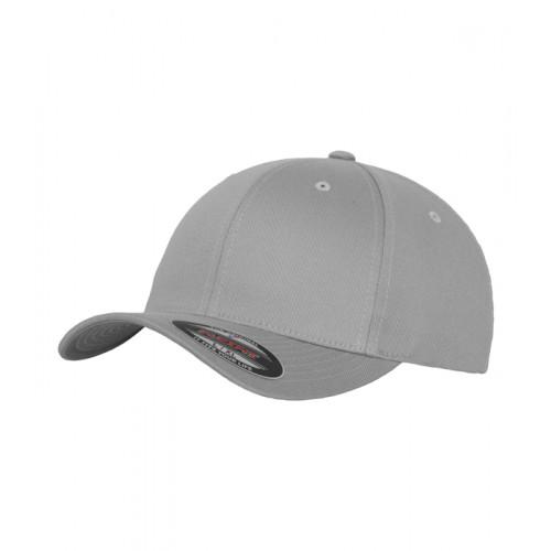 Flexfit Flexfit Fitted Baseball Cap Silver