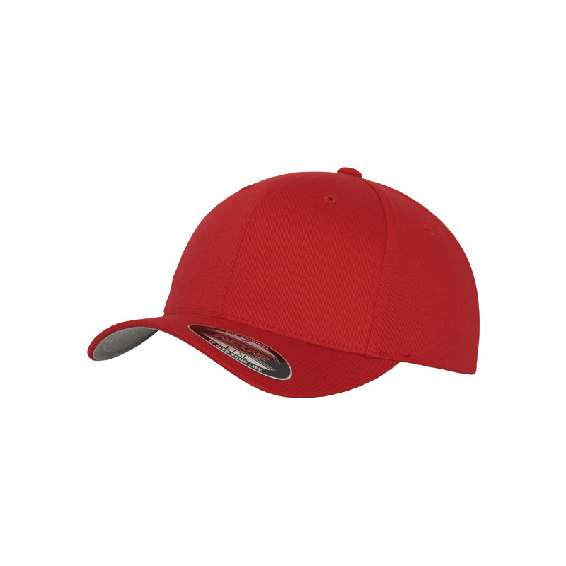 Flexfit Flexfit Fitted Baseball Cap Red