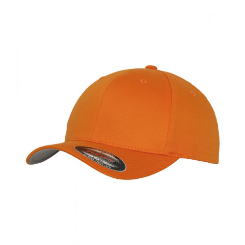 Flexfit Flexfit Fitted Baseball Cap Orange