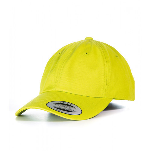Flexfit Dad Hat Baseball Strap Back Lime