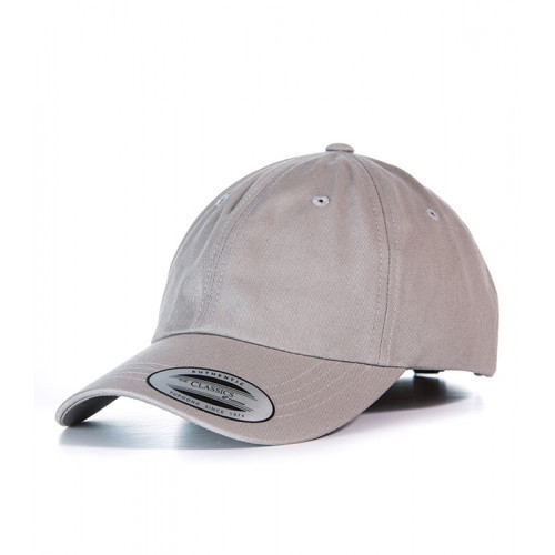 Flexfit Dad Hat Baseball Strap Back Dark Grey