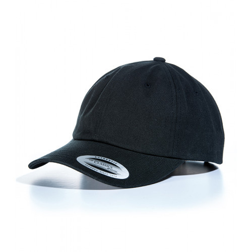 Flexfit Dad Hat Baseball Strap Back Black