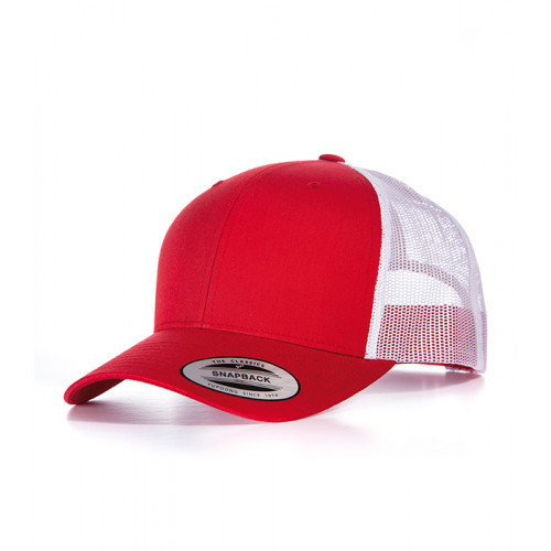 Flexfit Retro Trucker Cap Red/White