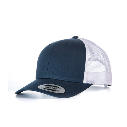 Flexfit Retro Trucker Cap Navy/White