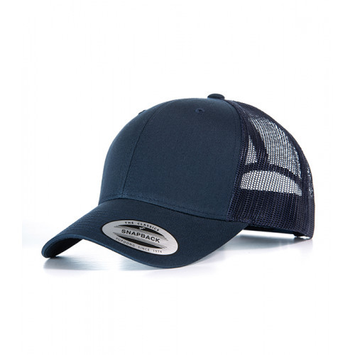 Flexfit Retro Trucker Cap Navy/Navy