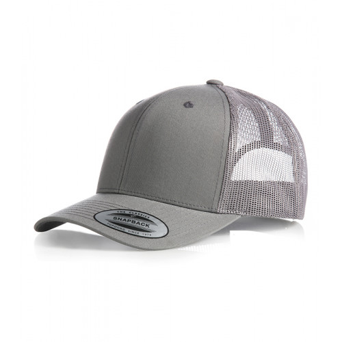 Flexfit Retro Trucker Cap Grey/Grey
